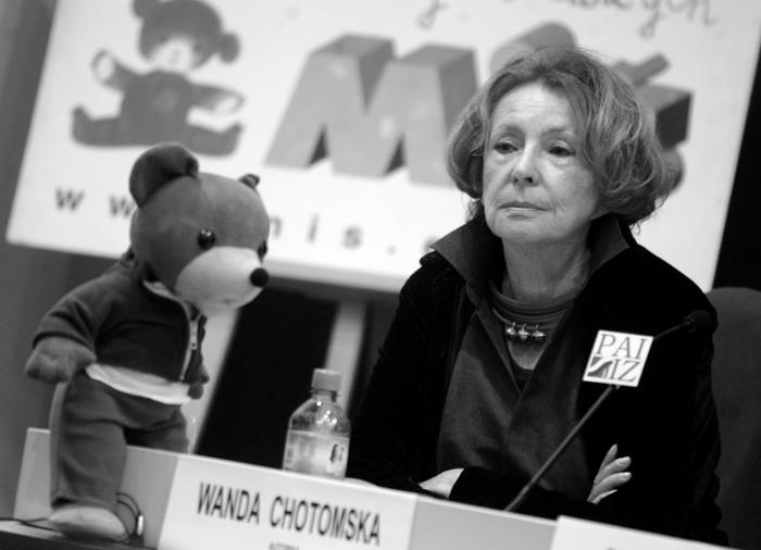 Barbara Gawryluk Wanda Chotomska Była Mistrzynią