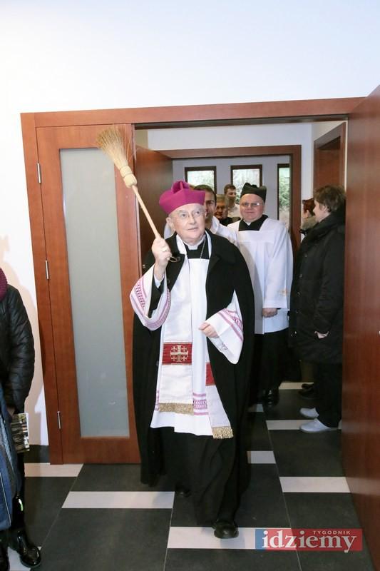 Poświęcenie Domu św. Józefa w Józefowie