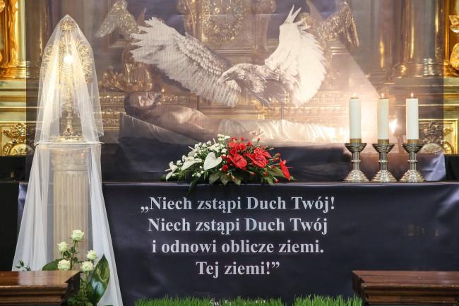 Grób Pański w kościele Świętego Krzyża przy Krakowskim Przedmieściu