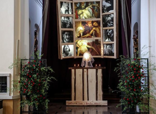 Grób Pański w kościele św. Marcina przy ulicy Piwnej