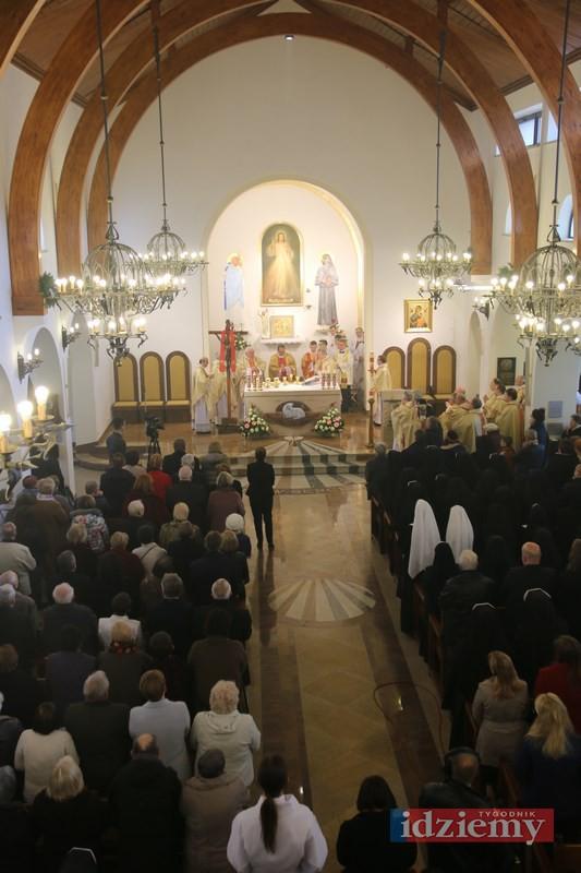 Konsekracja kościoła na ul. Żytniej w Warszawie - 23 kwietnia 2017