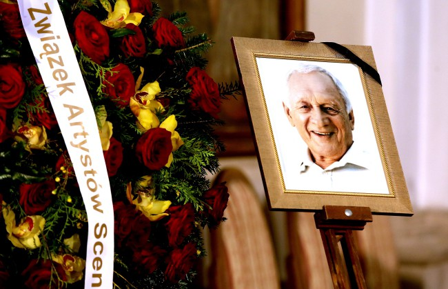 Uroczystości pogrzebowe Witolda Pyrkosza - 28 kwietnia 2017