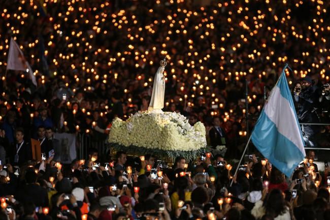 Pielgrzymka papieża Franciszka do Fatimy - 12-13 maja 2017 (cz. 3)