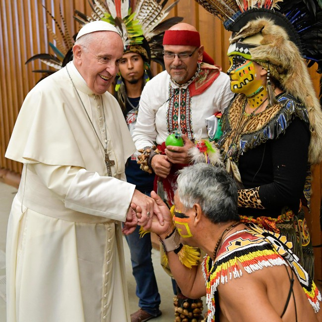 Audiencja papieska - 08.08.2018