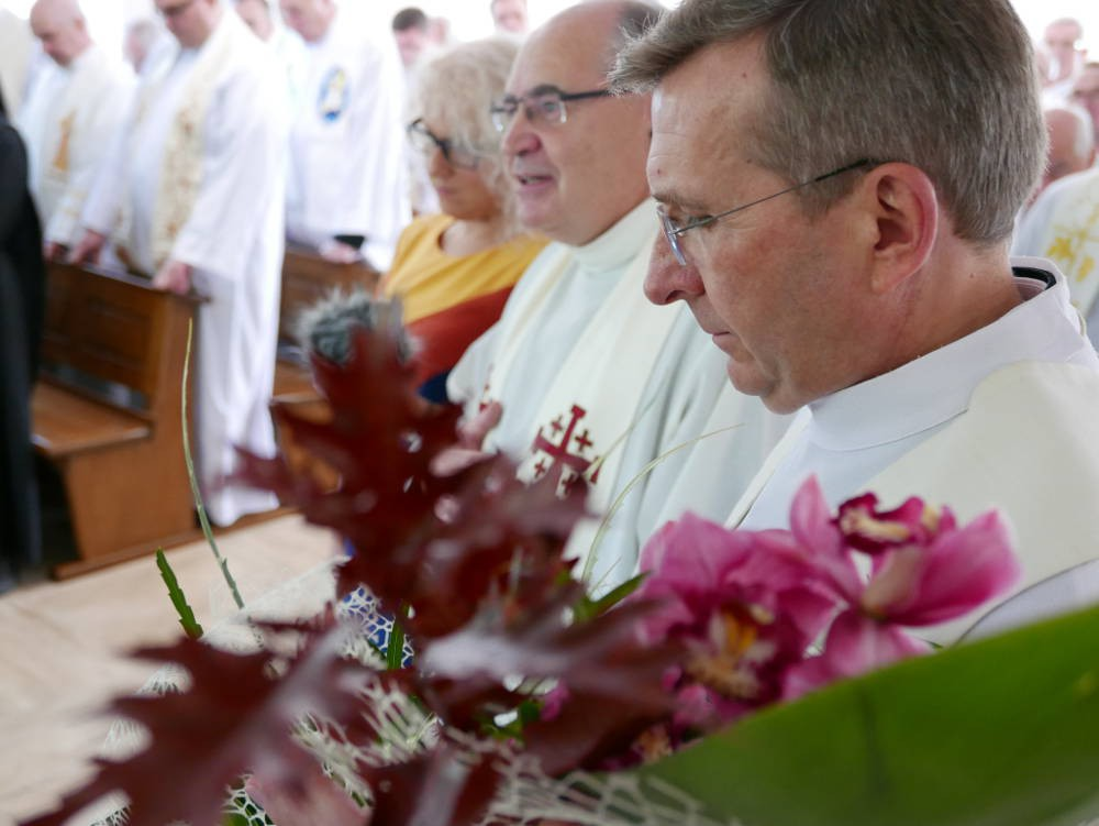 Poświęcenie Kaplicy Domu Pielgrzyma w Ostrówku