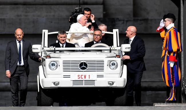 Audiencja papieża Franciszka