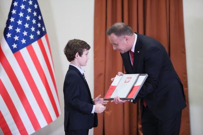 Prezydent Duda z wizytą w Houston