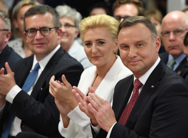Spotkanie prezydenta z kalifornijską Polonią